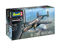 Maquette avion amércain : B-25D Mitchell 1:48 - Revell 04977, 4977 - france-maquette.fr
