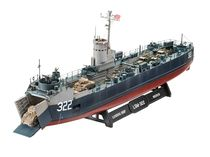 Maquette bateau : US Navy Landing Ship Medium - 1:144 - Revell 05169, 5169 - france-maquette