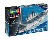 Maquette navire militaire : HMS Invincible (Falkland War) 1:700 - Revell 05172, 5172 - France-maquette.fr