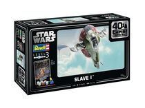 "Maquette Star Wars : Slave I - 40th Anniversary ""L'empire contre-attaque"" - 1:88 - Revell 05678, 5678 - france-maquette.fr"