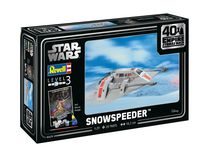 "Maquette Star Wars : Snowspeeder - 40th Anniversary ""L'empire contre-attaque"" - 1:29 - Revell 05679, 5679 - france-maquette.fr"