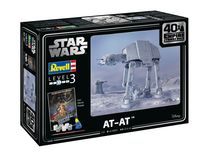 "Maquette Star Wars : AT-AT - 40th Anniversary ""L'empire contre-attaque"" - 1:53 - Revell 05680, 5680 - face-maquette.fr"