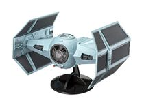 Maquette Star Wars : Model Set Darth Vader's TIE Figh 1:57 - Revell 66780 - france-maquette.fr