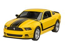 Maquette voiture de sport : 2013 Ford Mustang Boss 302 1:25 - Revell 07652, 7652 - france-maquette.fr