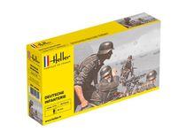 Figurines militaires : Deutsche Infanterie - 1/72 - Heller 49605 - france-maquette.fr