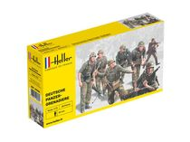 Figurines militaires : Panzergrenadiers Allemands - 1/72 - Heller 49606 - france-maquette.fr