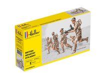 Figurines militaires : Britische Infanterie 8. Armée - 1/72 - Heller 49609 - france-maquette.fr