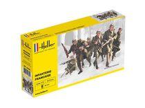 Figurines militaires :Infanterie française - 1/72 - Heller 49602