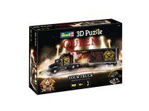 Maquette camion : Puzzle 3D QUEEN Tour Truck - 50e Anniversaire - Revell 0230, 230 - france-maquette.fr