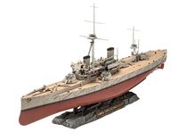Maquette navire militaire : HMS Dreadnought - 1:350 - Revell 05171, 5171 - france-maquette.fr