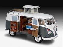 Maquette voiture : Volkswagen T1 Camper 1:24 - Revell 07674, 7674 - france-maquette.fr