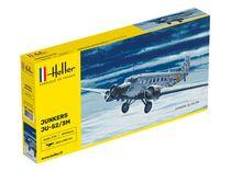 Maquette avion : Ju-52/3m - 1:72 - Heller 80380 - france-maquette.fr