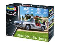 Maquette voiture : Mercedes Benz 300 SL - 1:12 - Revell 07657, 7657