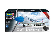 "Maquette avion civil : Boeing 747-8F Cargolux LX-VCF ""Facemask"" - 1:144 - Revell 03836 3836"