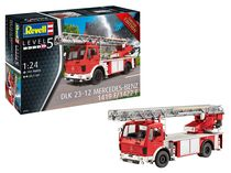 Maquette camion : DLK 23-12 Mercedes Benz 1419 F/1422 F 1:24 - Revell 07504 7504