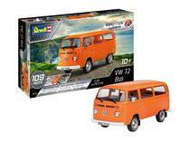 Maquette voiture : Volkswagen T2 Bus - 1:24 - Revell 07667, 7667