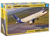 Maquette d'avion civil : Airbus A320 neo - 1/144 - Zvezda 7037 07037