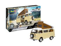 Maquette voiture : Easy-Click Vw T2 Camper - 1:24 - Revell 07676 7676