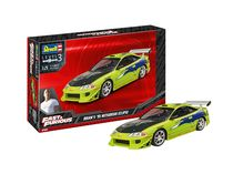 Maquette voiture : Fast & Furious Brian'S 1995 Mitsubishi Eclipse - 1:25 - Revell 07691 7691