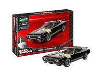 Maquette voiture : Fast & Furious - Dominics 1971 Plymouth Gtx - 1:24 - Revell 07692 7692