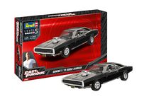 Maquette voiture : Fast & Furious - Dominics 1970 Dodge Charger - 1:25 - Revell 07693, 7693