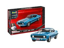 Maquette voiture : Fast & Furious - 1969 Chevy Camaro Yenko - 1:25 - Revell 07694 7694