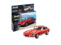 Model Set Voiture Jaguar E-Type Coupé - 1:24 - Revell 67668, 67668