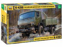 Maquette militaire : Camion Militaire K-4350 - 1/35 - Zvezda 03692 3692