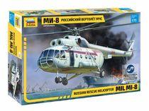 Maquette hélicoptère : Mil Mi‐8 Sauvetage- 1/72 - Zvezda 7254 07254