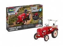 Maquette Easy-Click : Tracteur Porsche Junior 108 - Farming Simulator Edition 1:24 - Revell 07823, 7823