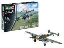 Maquette avion militaire : Messerschmitt Bf110 C-7 - 1/32 - Revell 04961 4961