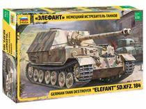 Maquette militaire : Char SD.KFZ.184 Elephant - 1/35 - Zvezda 03659 3659