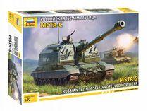 Maquette militaire : Automoteur MSTA-S - 1/72 - Zvezda 5045, 05045