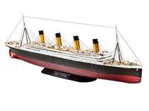 Maquette bateau de croisière : R.M.S. TITANIC - 1/700 - Revell - 5210