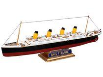 Maquette bateau de croisière : Model Set R.M.S. TITANIC - 1/1200 - Revell