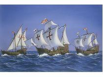 Heller 52910 : Kit complet des Caravelles de Christophe Colomb au 1/75