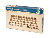 Italeri 6147 : Obstacles anti-chars (Anti-tank Obstacles)
