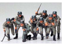 Figurines militaires : Troupes de soldats allemands - 1/35 - Tamiya 35030