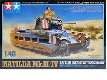 Tamiya 32572 1/48 Matilda Mk.III/IV British Infantry Tank Mk.IIA