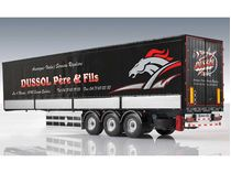 Accessoire maquette de camion : Semi-remorque Bâchée - 1:24 - Italeri 3885