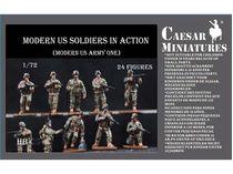 Figurines militaires : Soldats de l'US Army - 1:72 - Caesar HB011