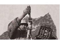 Figurines militaires : Mortier allemand 80 mm hiver - 1/72 - Zvezda 06209