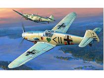 Maquette d'avion militaire : Messerschmitt BF 109F-2 - 1/72 - Zvezda 7302