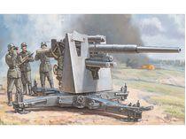 Maquette militaire : Canon FlaK 36/37 88 mm + servants - 1/72 - Zvezda 6158