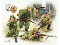 Figurines militaires : Tireurs d'Elite Soviétiques - 1/72 - Zvezda 06193
