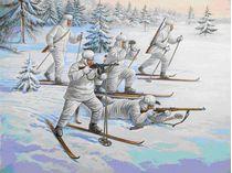 Figurines militaires : Troupes à ski Soviétiques - 1/72 - Zvezda 06199