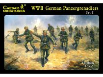 Caesar 00052 : Panzergrenadiers Allemands 1943/1944