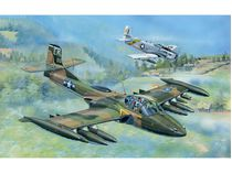 "Maquette avion militaire : US A-37A ""DRAGONFLY"" - Vietnam 1967 - 1:48 - Trumpeter 02888"
