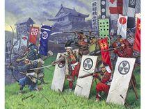 Figurines infanterie japonaise : Fantassins Samourais - 1/72 - Zvezda 08017