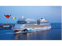 Maquette de navire de croisière : AIDA (blu, sol, mar, stella) - 1:400 - Revell 05230